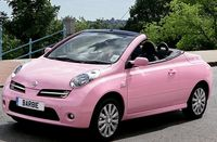 The Nissan Micra. It would be humiliating to die at the hands of a person who would buy this car.