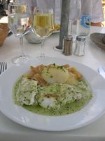 Our lunch in Porquerolles