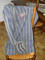 Jackie's concentration camp uniform