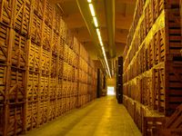The Devaux warehouse (I think I saw the Ark of the Covenant in there)