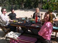 Johann, Patrick, Liz, Wil and Liz