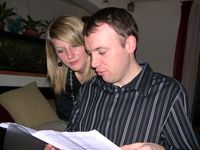 Johann and his sister, Julie