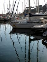 The port at Carry le Rouet