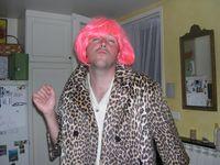 Johann as drag queen